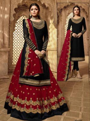 3907F Designer 2 In 1 Sharara Suit