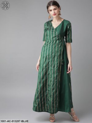 Green And Gold Maxi