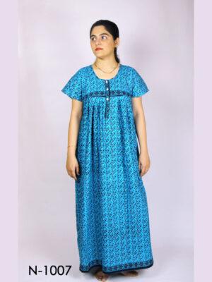 N1007 Women Cotton Nighty