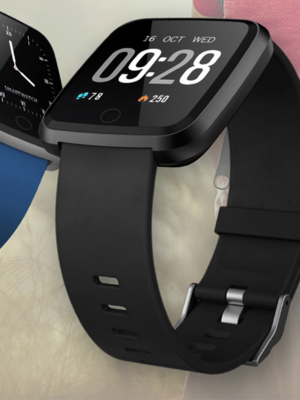 1.3 Inches Large TFT Color Screen Android 4.4 Bluetooth 4.0 Heart Rate Monitor Smart Bracelet