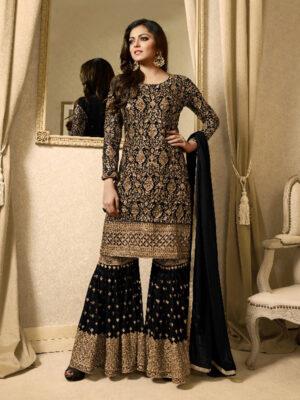1709A Designer Pakistani Style Indian Replica Suit