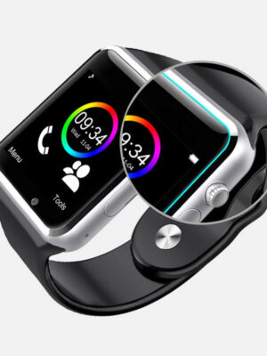 Bluetooth Smart Watch Sport Pedometer with SIM Camera Smartwatch for Android Smartphone Russia T15