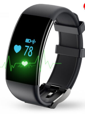 D21 Smat Band Heart Rate Monitor Smart Bracelet Waterproof Fitness Tracker Watch Clock Smartband for IOS Android Phone