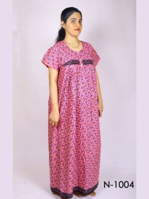 N1004 Women Cotton Nighty