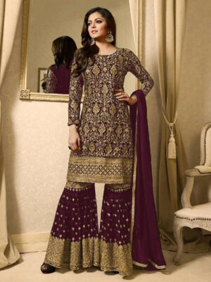 1709B Designer Pakistani Style Indian Replica Suit