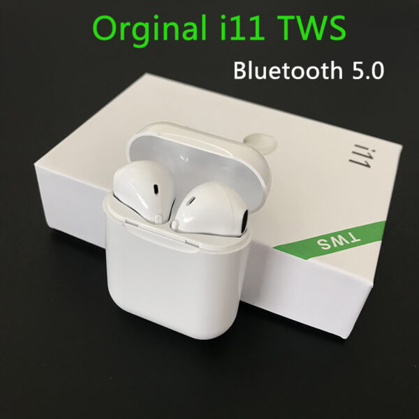 Wireless Earphone Bluetooth Headset I11 Tws 5.0 Touch Binaural Sports Earbug for IOS Smart Android Phone