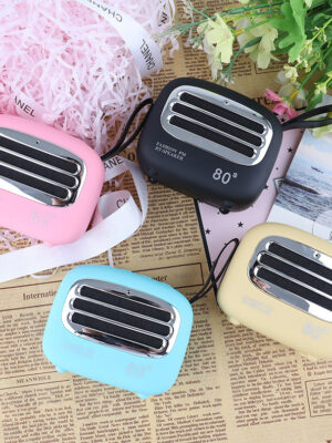 Retro Bluetooth Speaker Creative Gift Portable Car Subwoofer Card Mini Wireless Bluetooth Small Speaker
