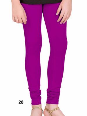 28 Purple 4 Way Cotton Leggings
