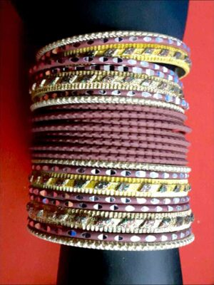 Designer Metal Bangles (2.4 Size)