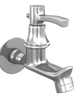 Sheetal – Antique Bib Cock Faucet With Wall Flange