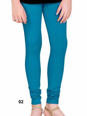 02 Ball Blue 4 Way Cotton Leggings