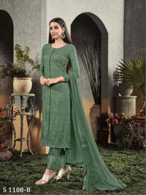 1108B Pakistani Style Designner Long Suit