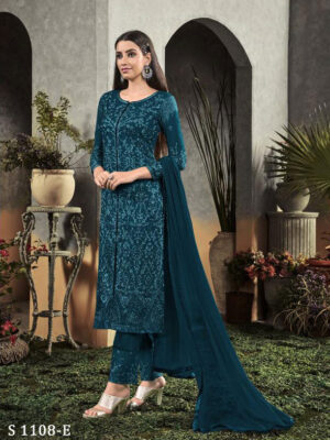 1108E Pakistani Style Designner Long Suit