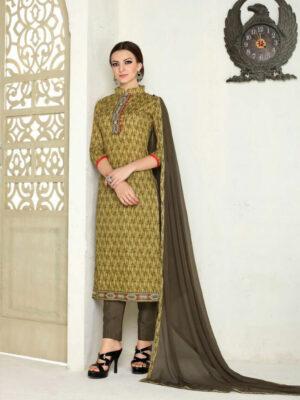003 Brown Designer Salwar Suit