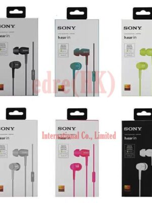 Earphone In-ear EX750 Stereo Bass Headset Wired Headphone Handsfree Remote Mic Earbuds For iPhone Samsung Sony 3.5mm Jack with Package