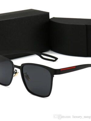 luxury square sunglasses men designer summer shades black vintage oversized sun glasses for women male sunglass