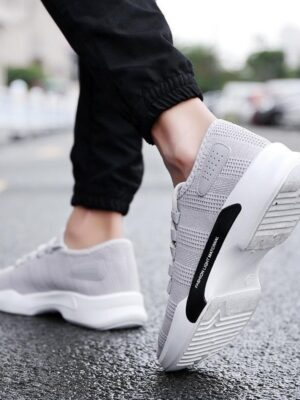 2020 new arrive breathable sneakers China suppliers footwear fashion casual shoe men's running shoe asdc
