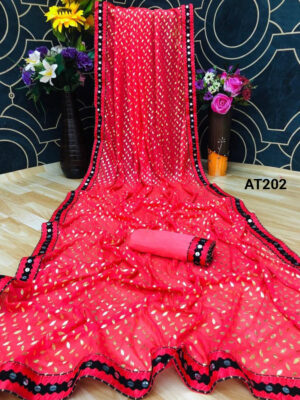 Dark Pink Fabulous Party Wear Saree With Sequence Lace