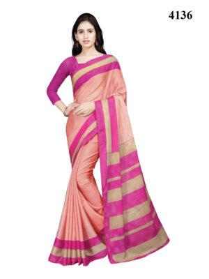 4136 Designer Dyna Silk Handloom Saree