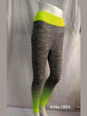 Lemon Green Yoga Pant Collection