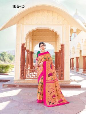 Rani Paithani Designer Saree