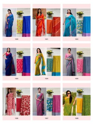 Anushka 2 Kota Silk Saree Wholesale Catalog