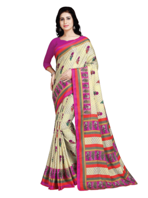 4140 Designer Dyna Silk Handloom Saree